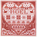 Click for more details of Redwork Noel (cross-stitch) by Imaginating