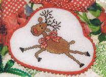 Click for more details of Reindeer Games (cross stitch) by Sue Hillis Designs