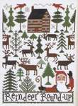 Click for more details of Reindeer Roundup (cross stitch) by The Prairie Schooler