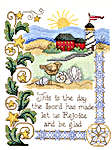 Click for more details of Rejoice and be Glad (cross-stitch pattern) by Imaginating