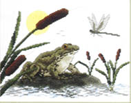 Click for more details of Reptiles and Amphibians (cross-stitch pattern) by Stoney Creek
