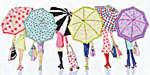 Click for more details of Retail Therapy (cross stitch) by Bothy Threads