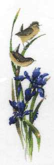 Click for more details of Rhapsody in Blue (cross-stitch kit) by Valerie Pfeiffer