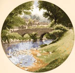 Click for more details of Riverside (cross-stitch kit) by John Clayton