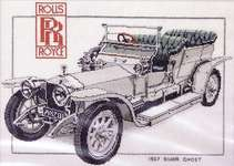 Click for more details of Rolls Royce (cross stitch) by Dave Shaw