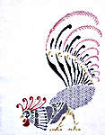 Click for more details of Rooster (blackwork pattern) by Classic Embroidery