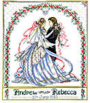 Click for more details of Rose Bower Wedding (cross-stitch) by Imaginating