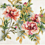 Click for more details of Rose Branch (cross-stitch kit) by Lanarte