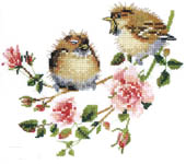 Click for more details of Rose Chick-Chat (cross-stitch kit) by Valerie Pfeiffer