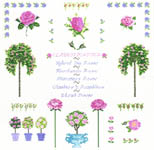 Click for more details of Rose Sampler (cross-stitch kit) by Anette Eriksson