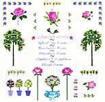 Click for more details of Rose Sampler with Oleander (cross-stitch kit) by Anette Eriksson