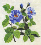 Click for more details of Roses and Flowering Branches in Cross Stitch (paperback) by Zarza