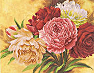 Click for more details of Roses (cross-stitch kit) by Lanarte