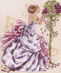 Click for more details of Roses of Provence (cross-stitch pattern) by Mirabilia Designs
