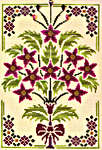 Click for more details of Royal Poinsettias (cross-stitch pattern) by Glendon Place