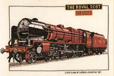 Click for more details of Royal Scot (cross stitch) by Dave Shaw