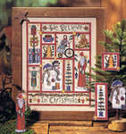 Click for more details of Rustic Holiday (cross-stitch) by Dimensions
