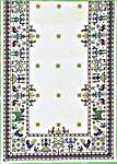 Click for more details of Rustic Table Runner (cross-stitch) by Eva Rosenstand