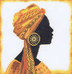 Click for more details of Sadwana I (cross-stitch kit) by Lanarte