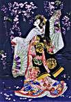 Click for more details of Sagi No Mai (cross stitch) by maia