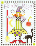 Click for more details of Sampler Teenies - Hallowe'en (cross-stitch pattern) by Alma Lynne