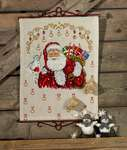 Click for more details of Santa and Sack of Toys Advent Calendar (cross stitch) by Permin of Copenhagen