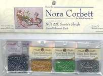 Click for more details of Santa's Sleigh Embellishment Pack (beads and sequins) by Nora Corbett