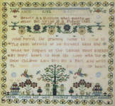 Click for more details of Sarah Gentle - 1821 (cross-stitch pattern) by Samplers Remembered