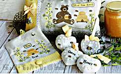 Click for more details of Save the Bees (cross stitch) by Madame Chantilly
