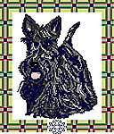 Click for more details of Scottie Dog (cross-stitch kit) by Anne Peden