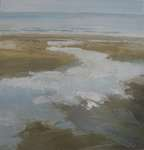 Click for more details of seascape (oil on canvas) by Yvonne Healy