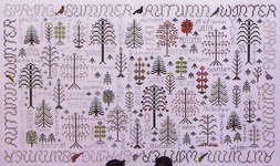 Click for more details of Seasons of the Trees (cross-stitch pattern) by Rosewood Manor