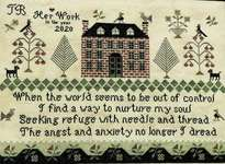 Click for more details of Seeking Refuge (cross stitch) by The Scarlett House