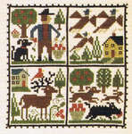 Click for more details of September (cross-stitch pattern) by The Prairie Schooler