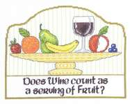 Click for more details of Serving of Fruit (cross-stitch) by Imaginating