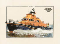 Click for more details of Severn Class Lifeboat (cross-stitch kit) by Dave Shaw