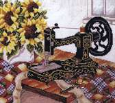 Click for more details of Sewing Room (cross-stitch pattern) by Stoney Creek