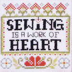 Click for more details of Sewn with Love (cross stitch) by Stoney Creek