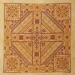 Click for more details of Shades of Orange (cross-stitch pattern) by Northern Expressions Needlework