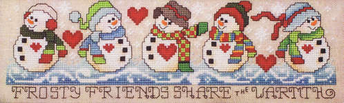 Click for more details of Share the Warmth (cross-stitch pattern) by Stoney Creek