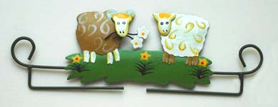Click for more details of Sheep Deco Hanger (bell pulls) by Rico Design
