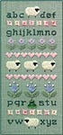 Click for more details of Sheep & Rabbit (cross stitch) by Elizabeth Foster