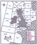 Click for more details of Shipping Forecast (blackwork kit) by Classic Embroidery