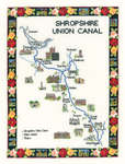 Click for more details of Shropshire Union Canal (cross stitch) by Sue Ryder
