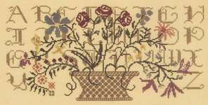 Click for more details of Silent Sampler (cross-stitch pattern) by Rosewood Manor