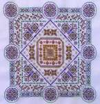 Click for more details of Silk Road : Alara (cross stitch) by Turquoise Graphics & Designs