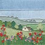 Click for more details of Silken Longstitch : Meadow (long-stitch) by Rose Swalwell