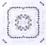 Click for more details of Silver Wedding Sampler (hardanger kit) by Patricia Bage