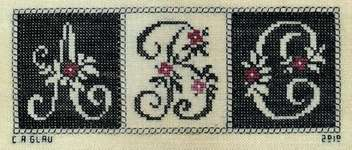 Click for more details of Simple (cross stitch) by Courtney Collection