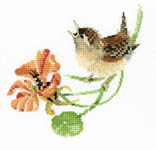 Click for more details of Simply Wren (cross-stitch kit) by Valerie Pfeiffer